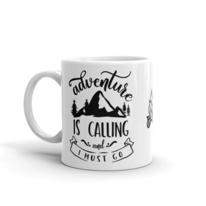 Adventure is Calling 11oz coffee and tea mug