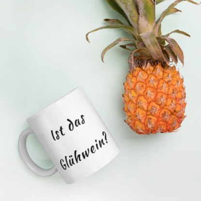 Is this Gluhwein 11oz coffee and tea mug pineapple
