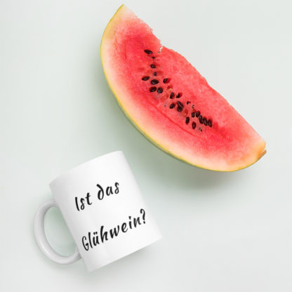 Is this Gluhwein 11oz coffee and tea mug watermelon