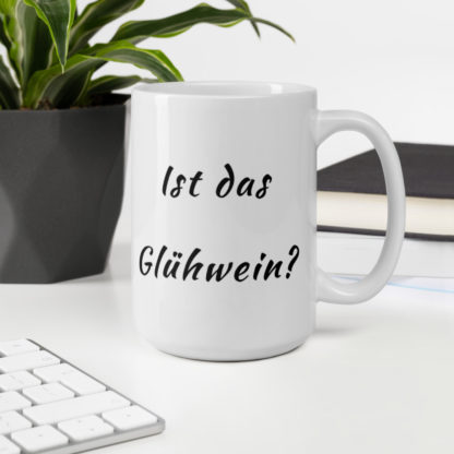 Is this Gluhwein 11oz coffee and tea mug computer